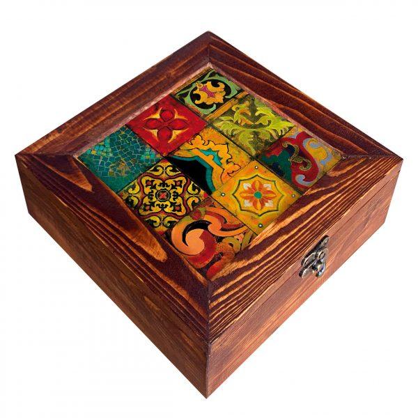 جعبه صنایع دستی چوبی